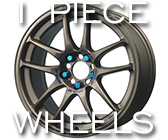 One-Piece Wheels